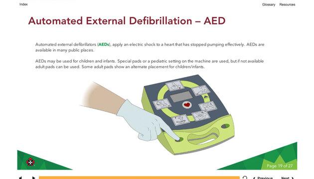 cpr aid hcp bls standard training ohs saskatchewan aed intermediate blended csa ambulance john course certification stjohn alberta