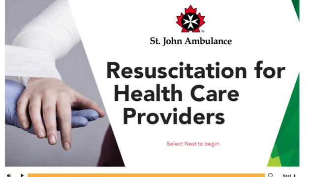 cpr awareness aed training bls hcp ambulance john alberta